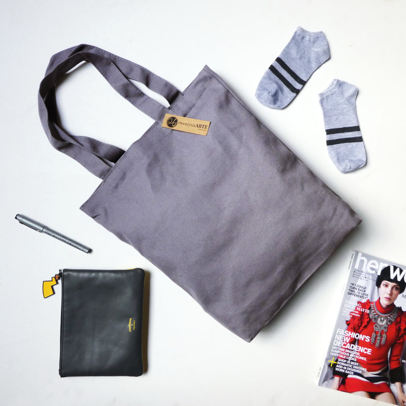 ARTE Canvas Tote Bag Classic | Grey